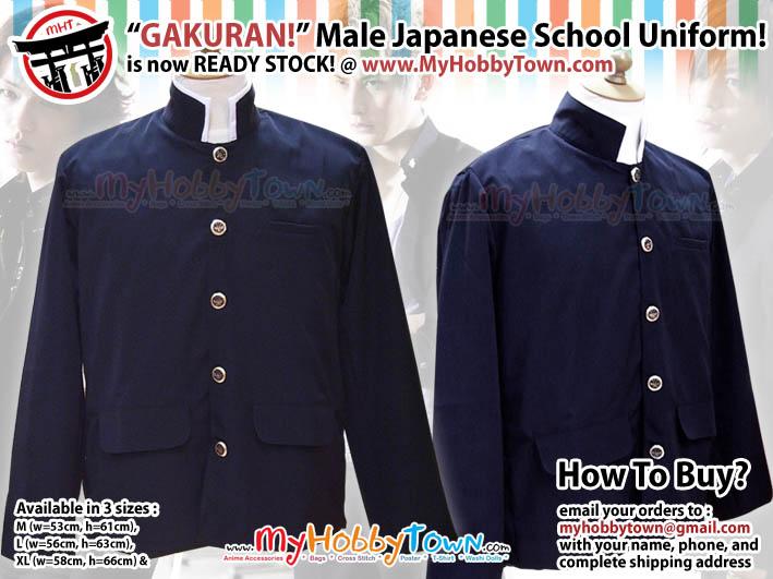 Gakuran: seragam siswa SMP/SMA Jepang